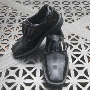 Boys Black Dress Shoes